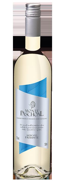 Vinho Frisante Monte Paschoal Moscato Branco Suave 750m