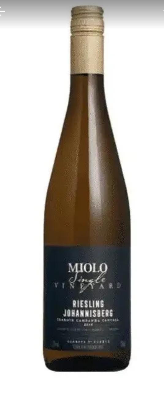 Vinho Branco Miolo Single Riesling Johannisberg 750ml