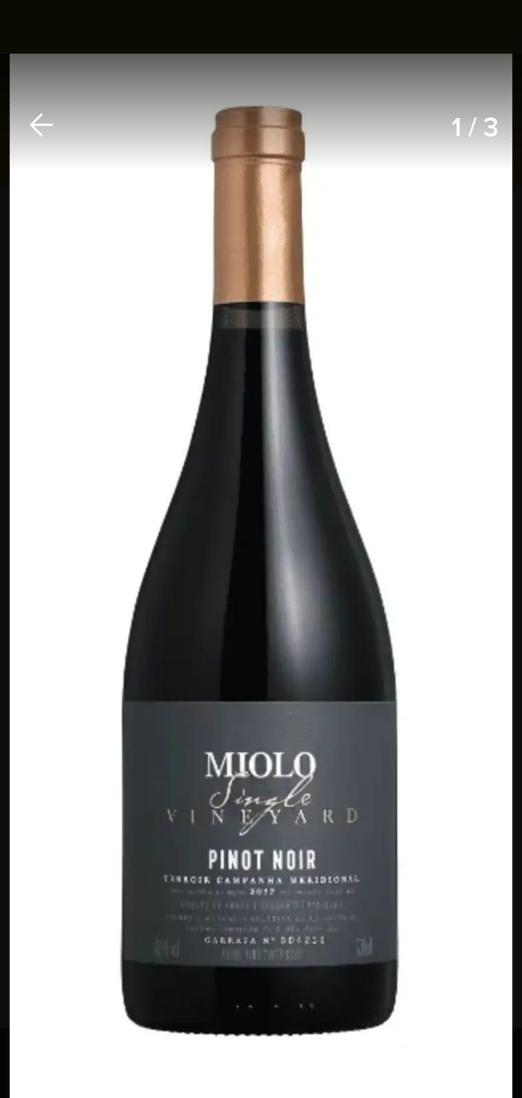 Vinho Miolo Single pinot noir 750ml