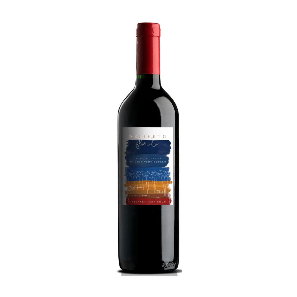 Vinho Tinto Desierto Florido Varietal Cabernet Sauvignon 750ml