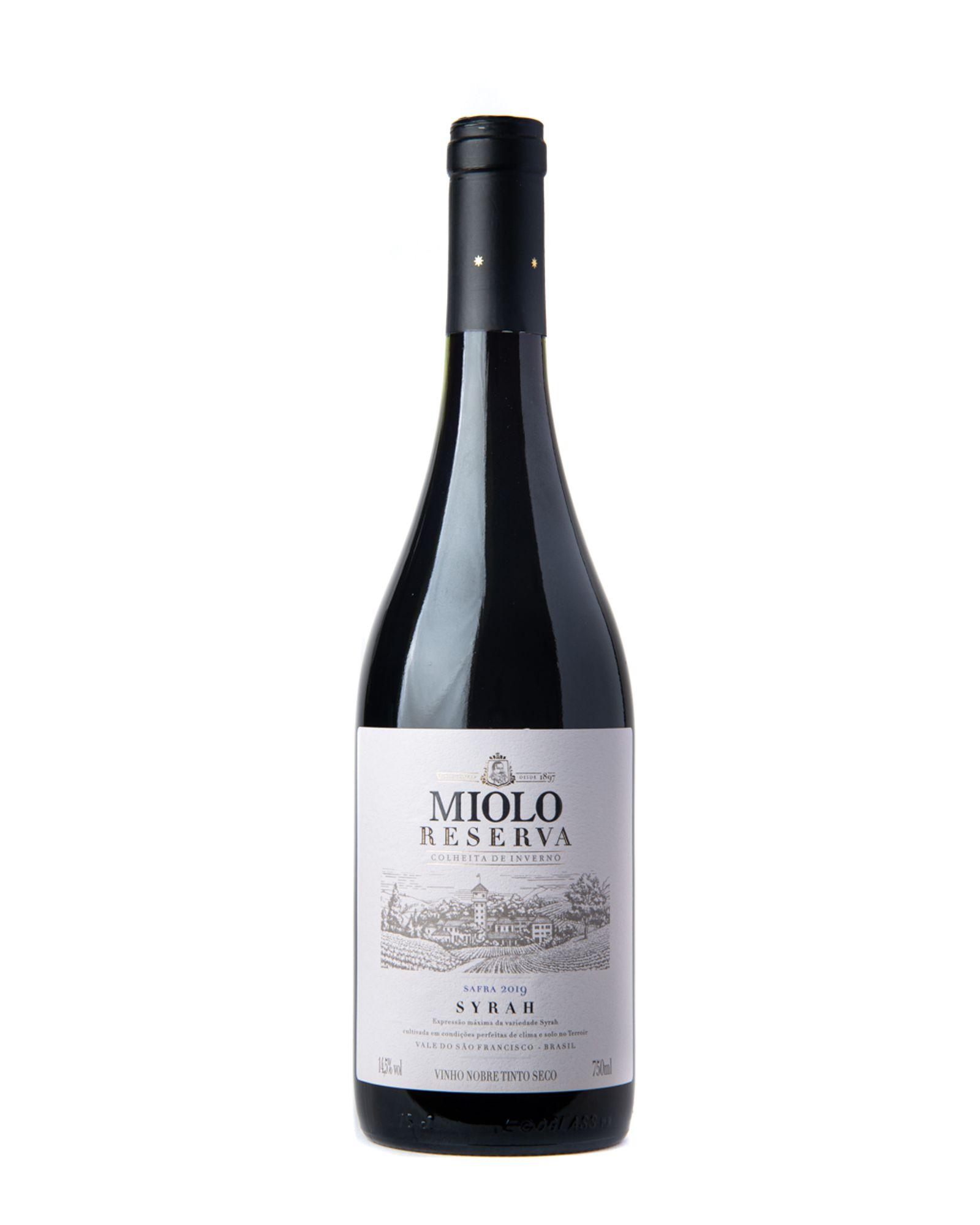 Vinho Tinto Miolo Reserva Syrah 750ml