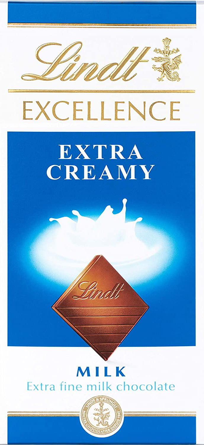Chocolate Lindt Excellence Extra Creamy (Milk) 100g