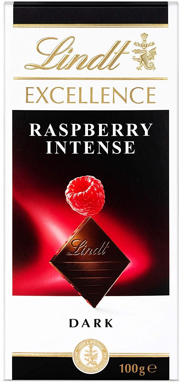 Chocolate Lindt Excellence Framboise Intense (Dark) 100g