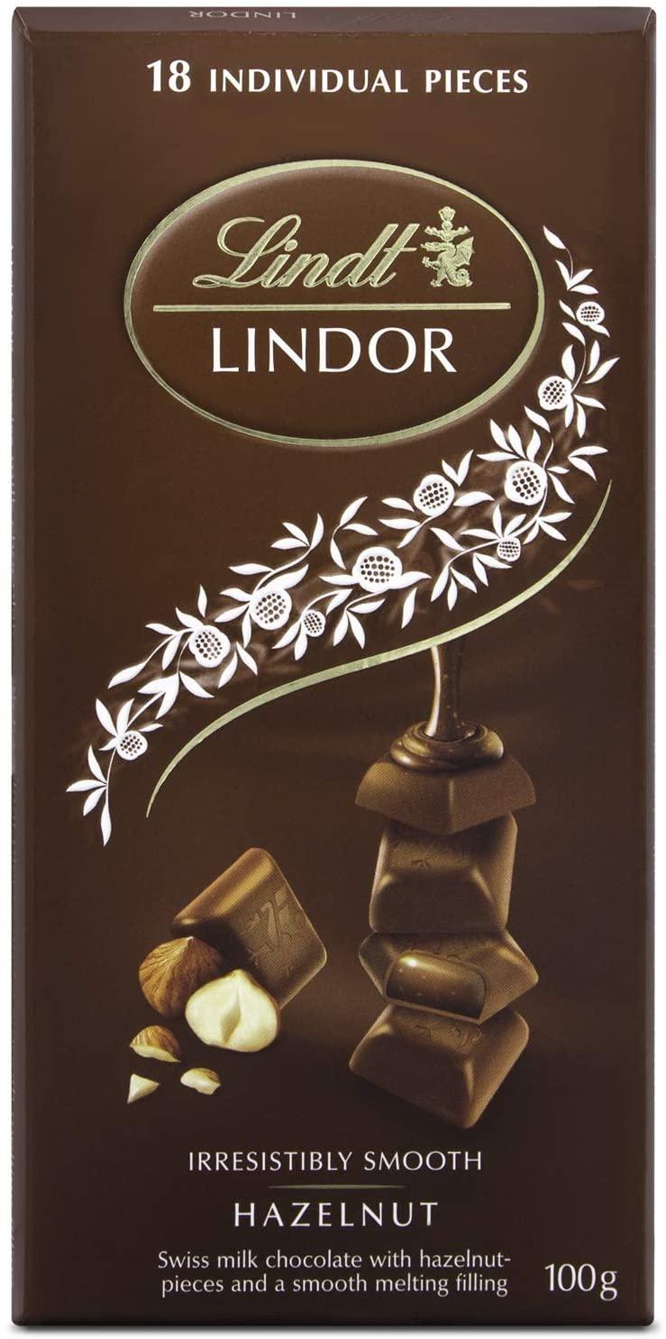 Chocolate Lindt Hazelnut Lindor Single 100g