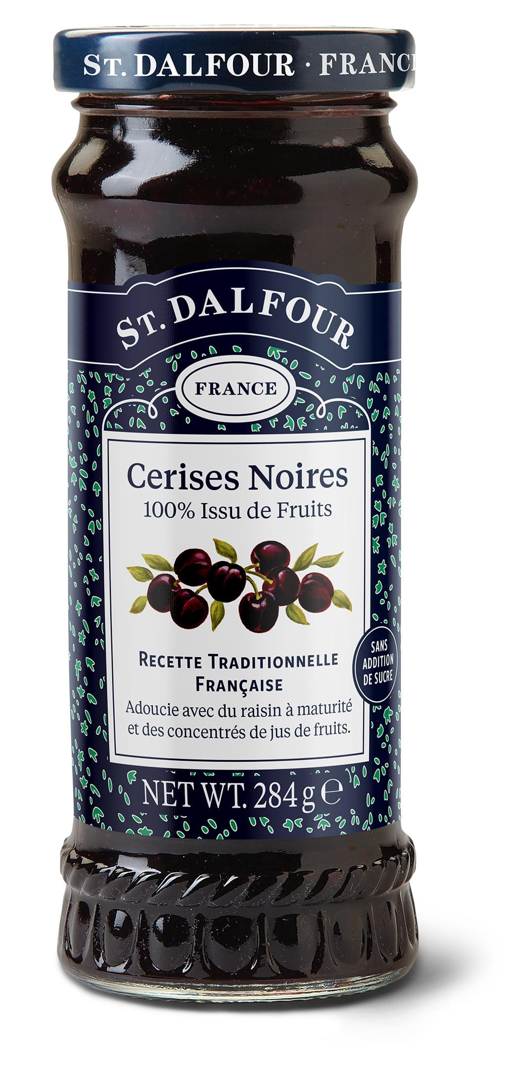 Geleia Francesa St. Dalfour Cereja (Cerises Noires) 284g