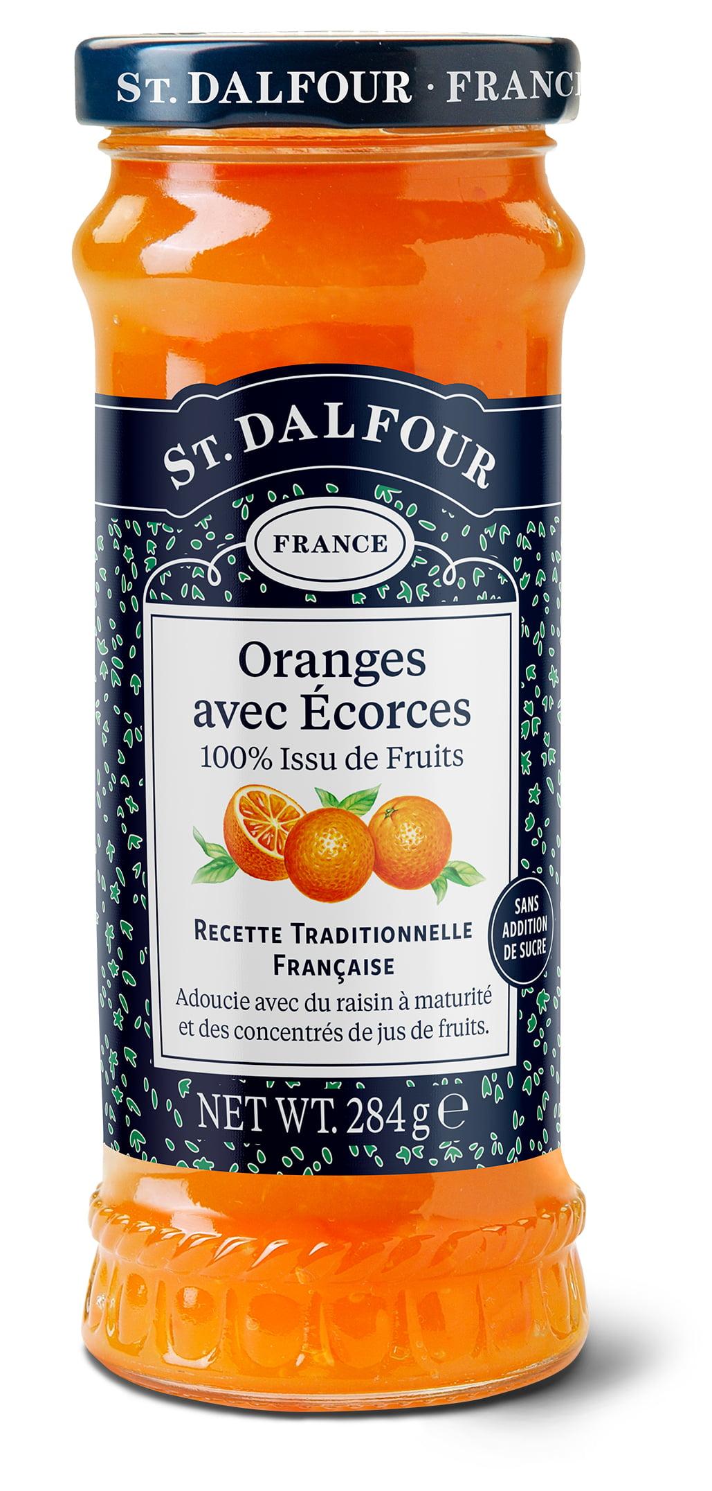 Geleia Francesa St. Dalfour Laranja (Oranges Avec Ecorces) 284g