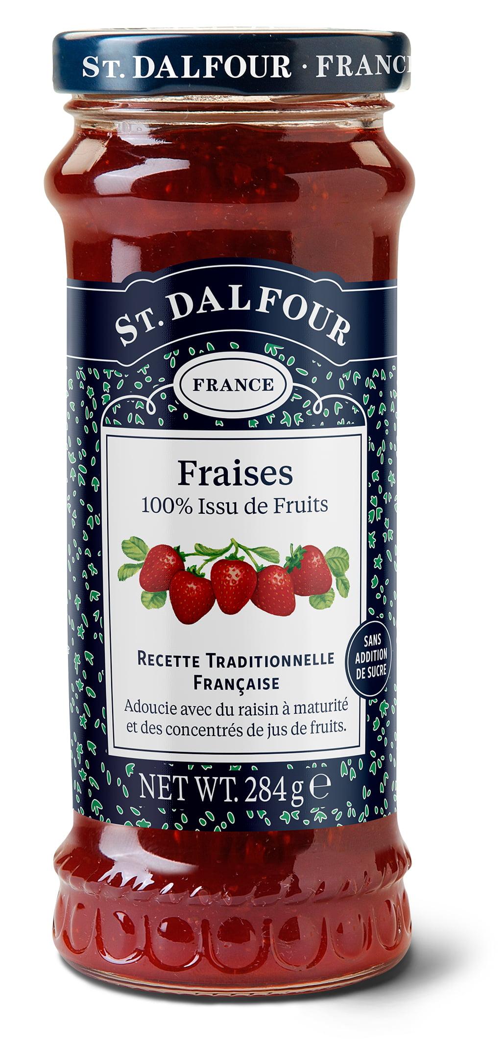 Geleia Francesa St. Dalfour Morango (Fraises) 284g