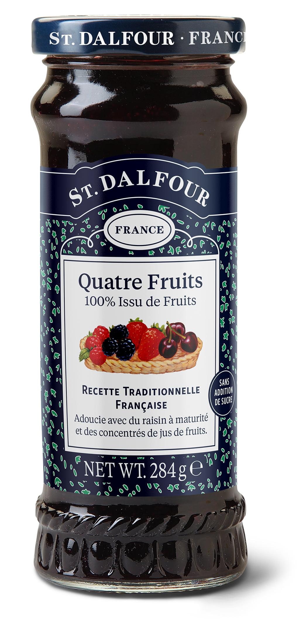 Geléia Francesa St. Dalfour Quatro Frutas (Quatre Fruits) 284g