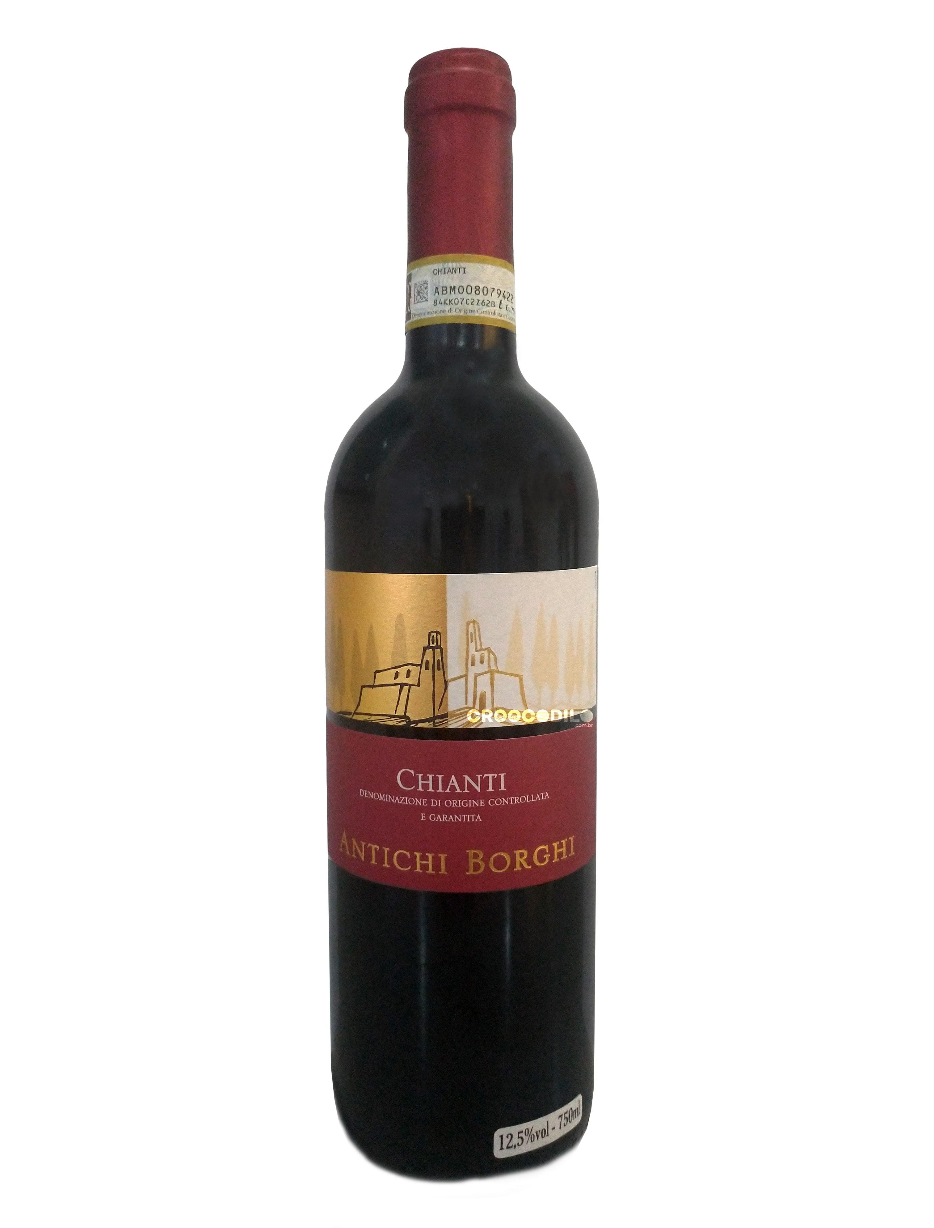 Vinho Antichi Borghi Chianti Tinto 750ml