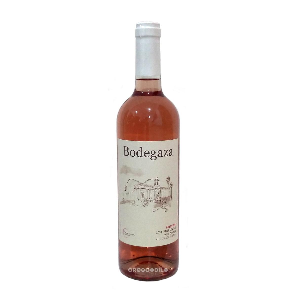 Vinho Bodegaza Rosé Syrah 750ml