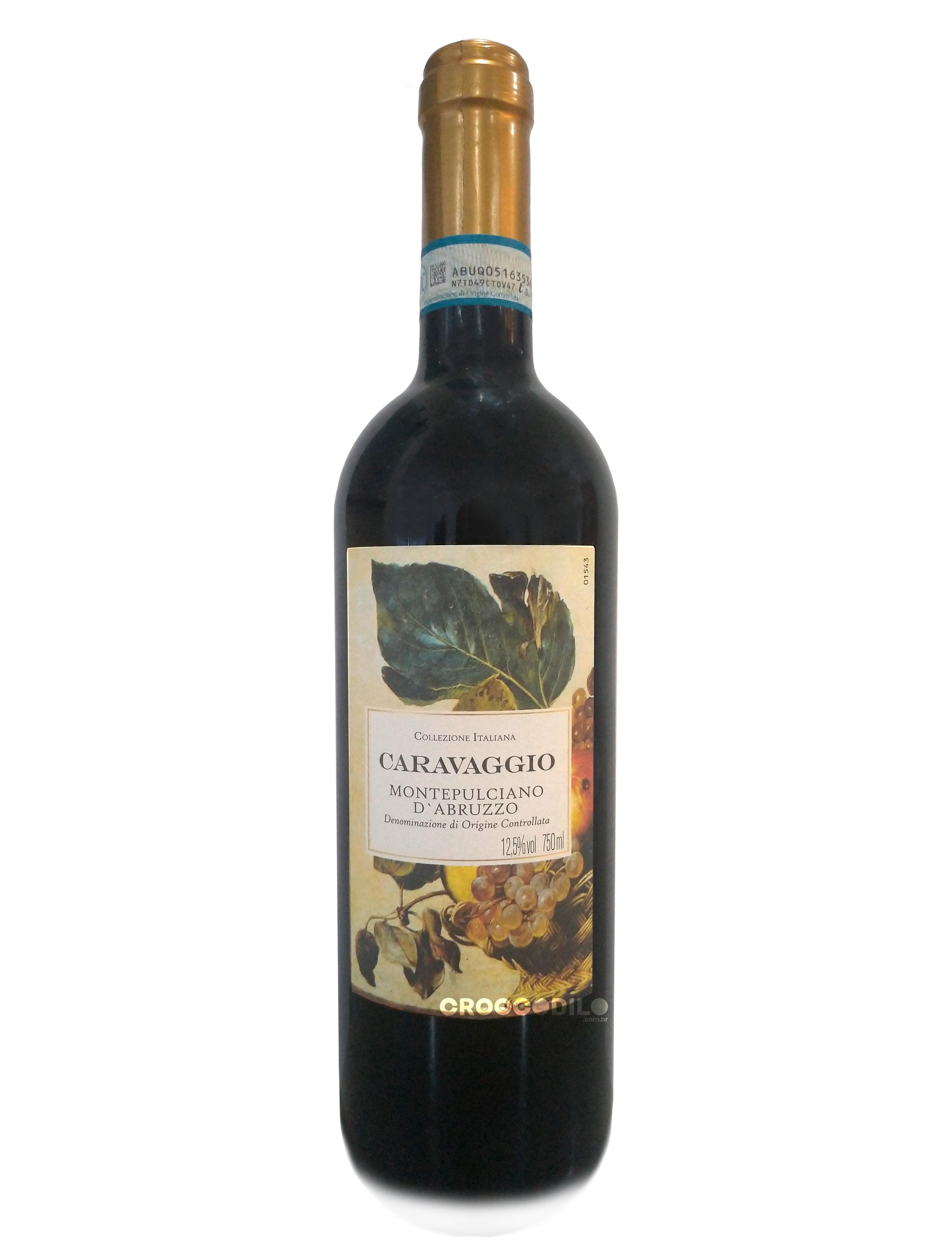 Vinho Caravaggio Montepulciano D' Ambruzzo Tinto 750ml