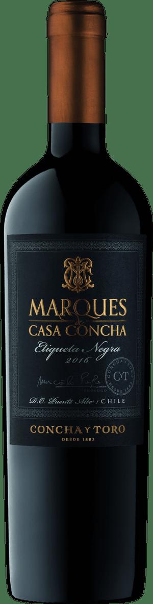 Vinho Marques de Casa Concha Etiqueta Negra Cabernet Sauvign