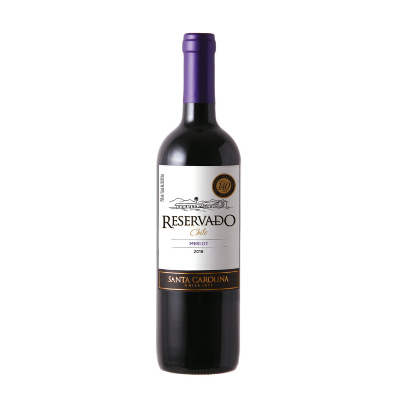 Vinho Santa Carolina Reservado Merlot 750ml