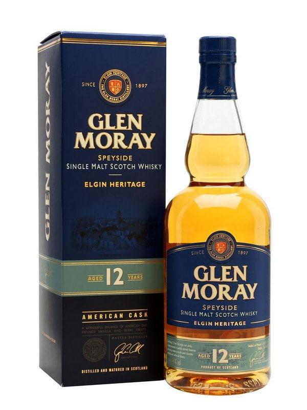 Whisky Glen Moray 12 Anos Single Malt Scotch 750ml