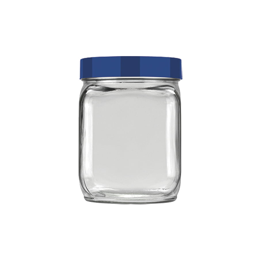Pote Liso 0,75L Invicta Mix Incess - Azul