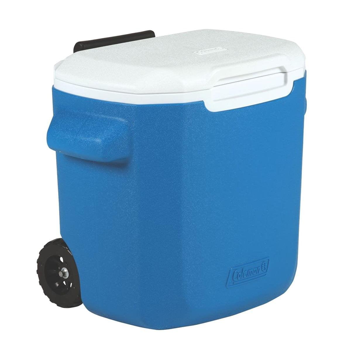 Caixa Térmica Coleman Com Rodas 16QT / 15,1 Litros - Azul