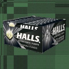 Bala Halls Extra Forte Display c/ 21un. 28gr