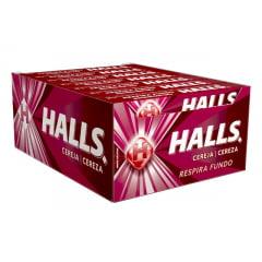 Bala Halls Cereja Display c/ 21un. 28gr