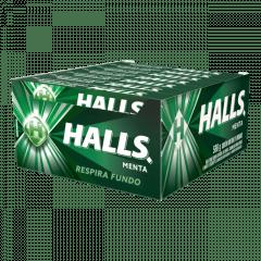 Bala Halls Menta Display c/ 21un. 28gr