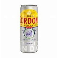 Gin Gordons + Tonic 269ML
