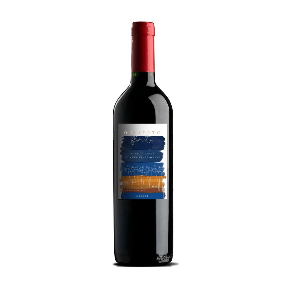 Vinho Tinto Desierto Florido Varietal Merlot 750ml