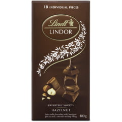 Chocolate Lindt Hazelnut Lindor Single 100g