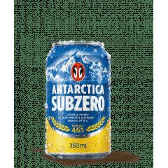 Cerveja Antartica Subzero Lata 350ml