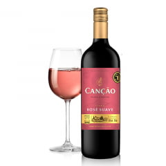 Vinho Cancao Rose Suave 750ml