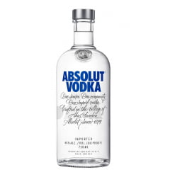 Vodka Absolut Natural 750ml