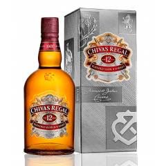 Whisky Chivas Regal 12 Anos 750ml