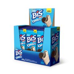 Chocolate Lacta Bis Xtra Oreo Display com 15un. 45gr